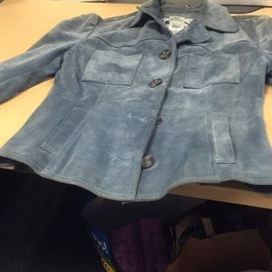 Jackets & Blazers - Small Dolce and Gabbana Suede Jacket